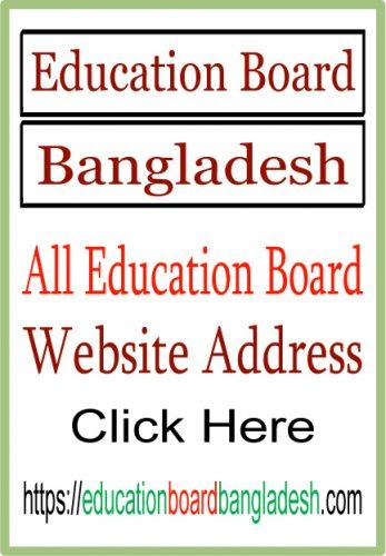 All Education Board Website Address